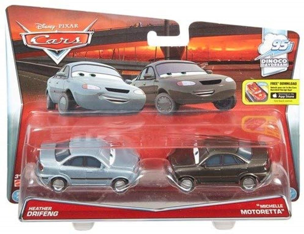 Mattel Cars Auta 2-pak Heather i Michelle DHL18
