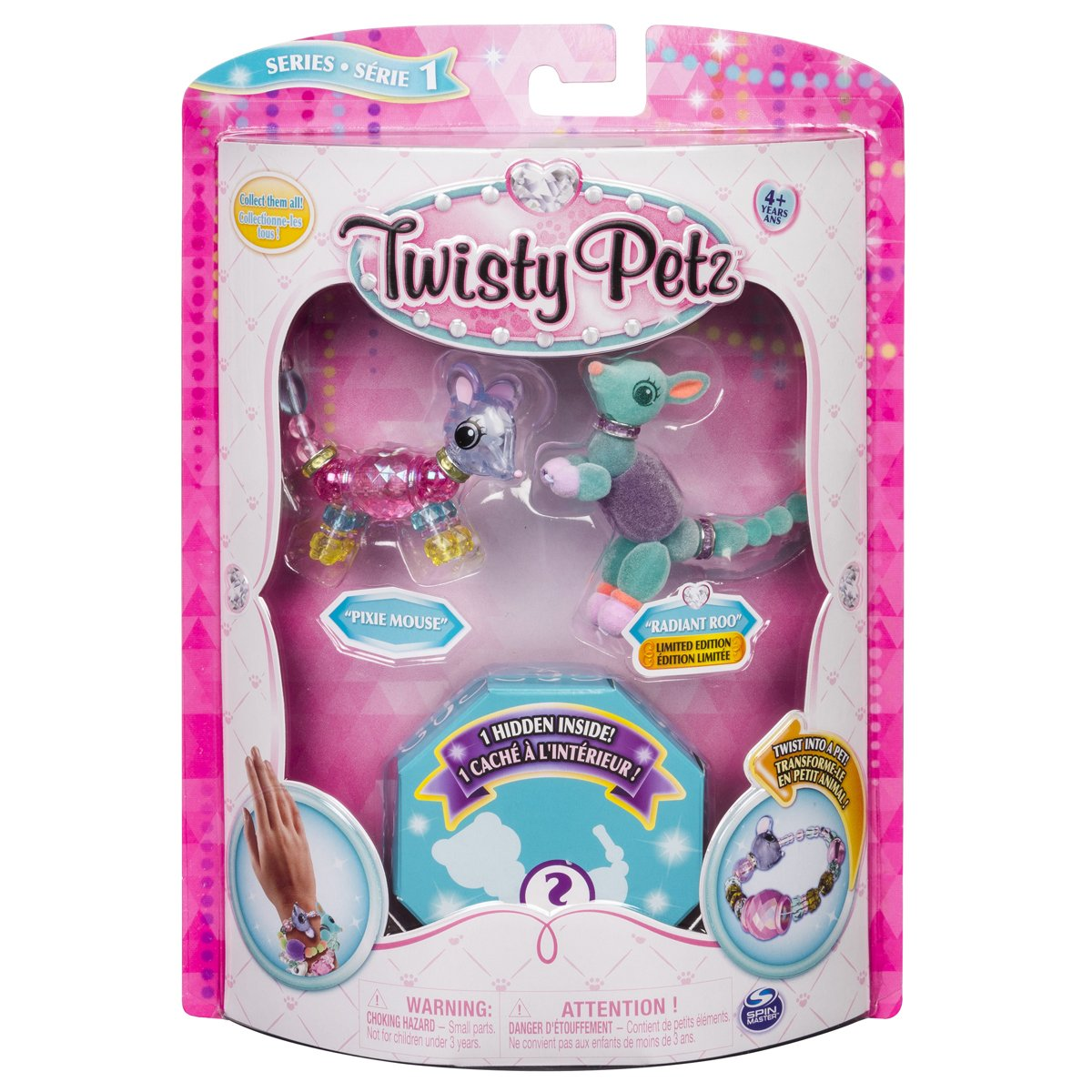 TWISTY PETZ 3-PAK Pixie Mouse i Radiant Roo
